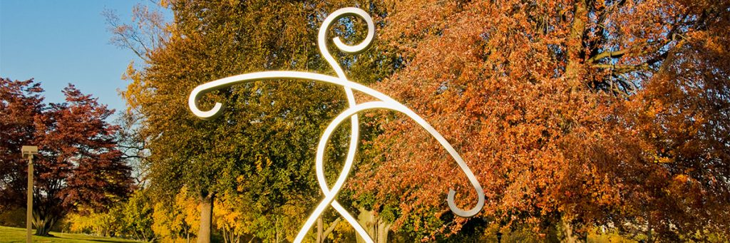 Hope is one of the inspiring statues decorating our beautiful campus.