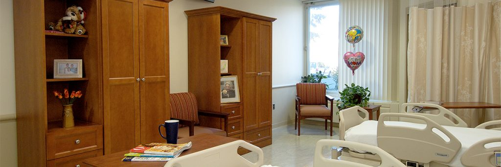 Our patient rooms are warm and inviting, with many offering a view of the beautiful Hudson River.