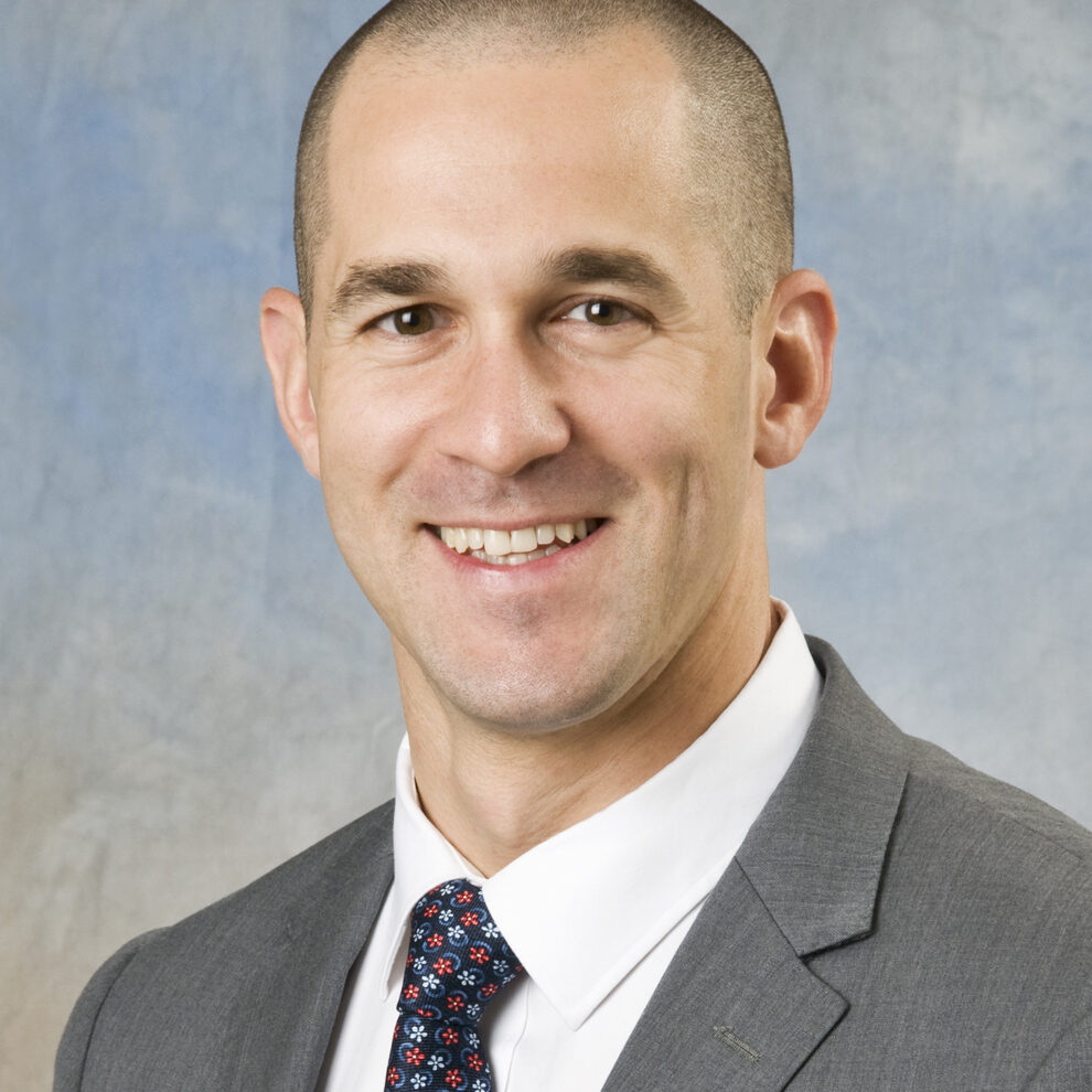 Portrait of John Ficucello, PT, MPT, Program Director of SCI/Amputee and Stroke Rehabilitation Services at Helen Hayes Hospital